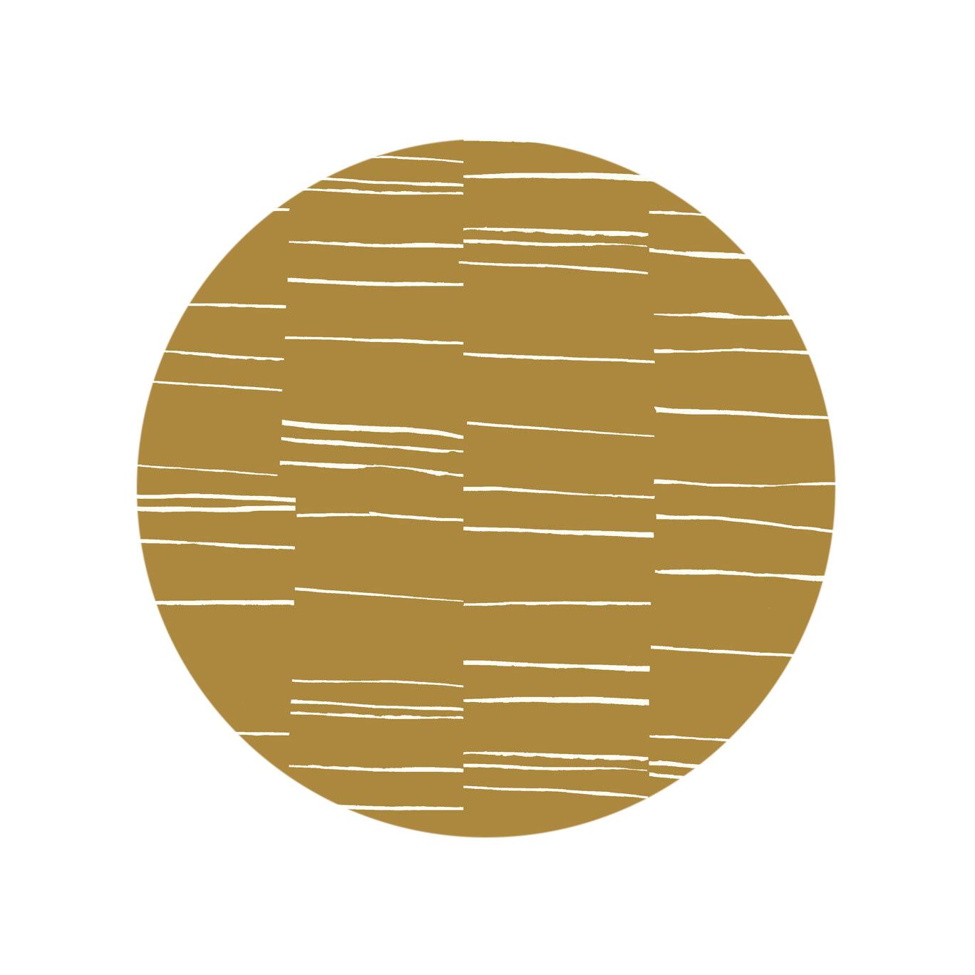 Fragmented Stripe - Dark Horseradish