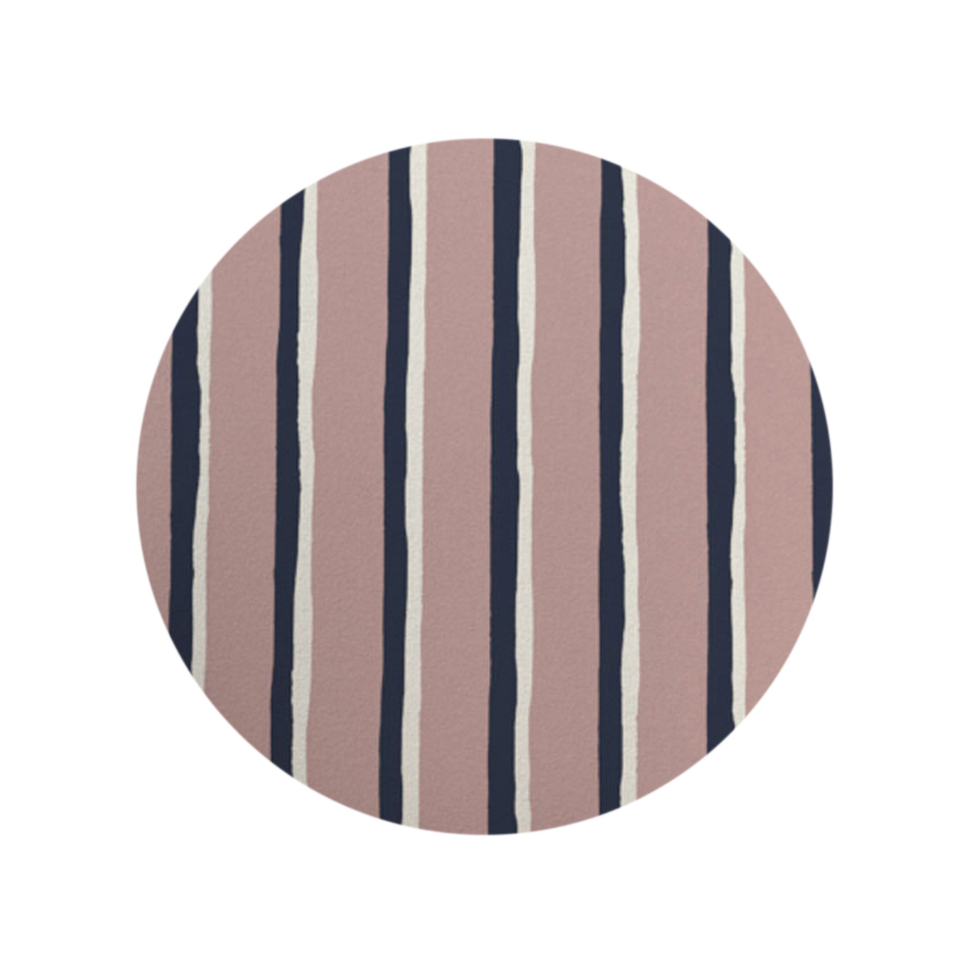 Painted Stripe - Pink Stone