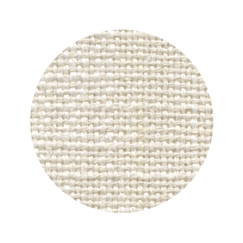 Yarn Dyed Linen Weave - Stone White