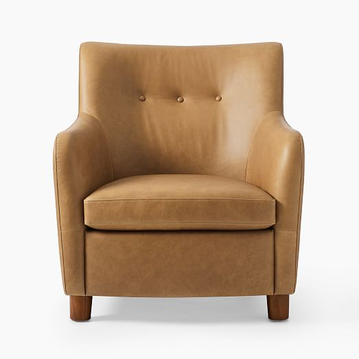 Teddy Leather Club Chair