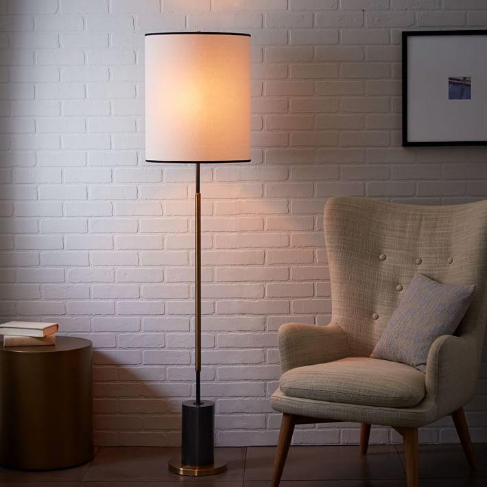 Rejuvenation Cylinder Floor Lamp West Elm