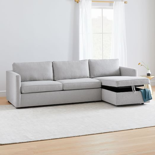 Harris Sleeper Sectional W Storage Chaise