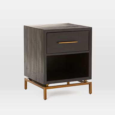 Alexa Burnished Nightstand
