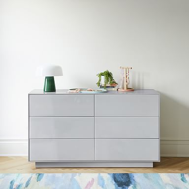 Emilia 6-Drawer Dresser - Haze