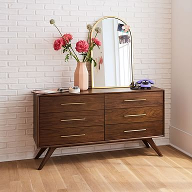 Wright 6-Drawer Dresser