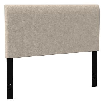 Andes Headboard Twin Deco Weave Stone West Elm
