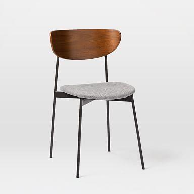 Mid-Century Modern Petal Dining Chair