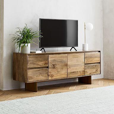 "Anton Solid Wood Media Console (68"")"