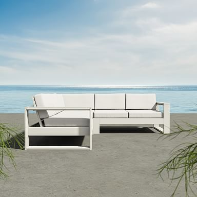 Portside by Polywood 3-Piece L-Shaped Sectional