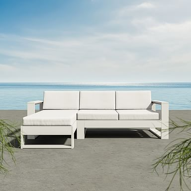 Portside by Polywood 2-Piece Chaise Sectional