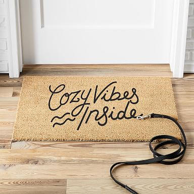 Cozy Vibes Inside Doormat
