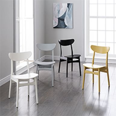 Classic Café Lacquer Dining Chair