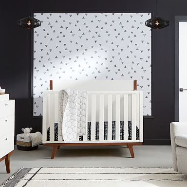 Modern 4-in-1 Convertible Crib