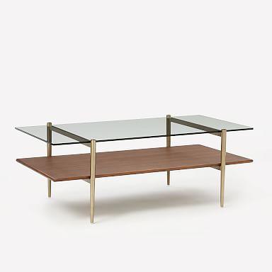 Mid-Century Art Display Coffee Table