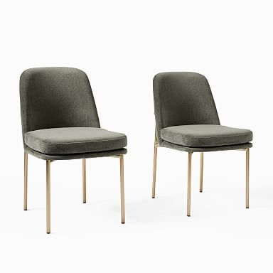 Jack Metal Frame Dining Chair (Set of 2)