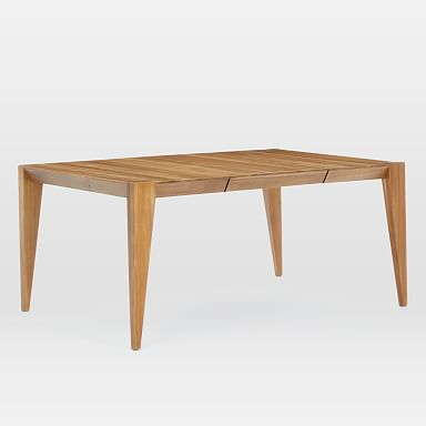 Anderson Solid Wood Expandable Dining Table - Caramel