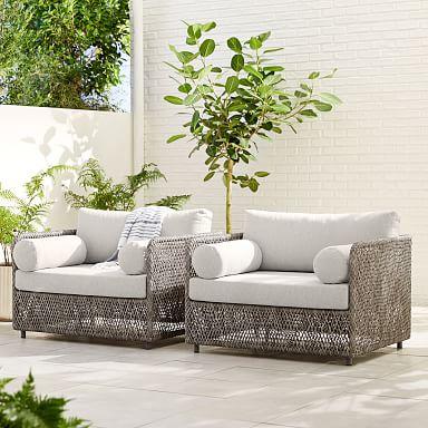 Coastal Outdoor Lounge Chair