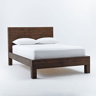 Emmerson® Reclaimed Wood Bed - Chestnut