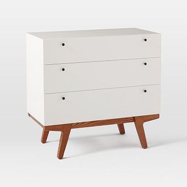 Modern 3-Drawer Dresser