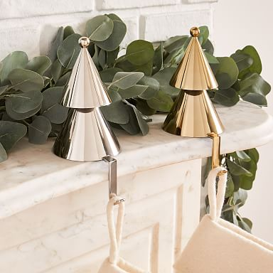 Metal Tree Stocking Holder