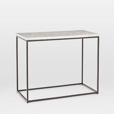Streamline Side Table - Marble