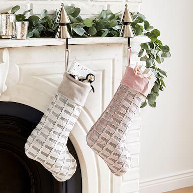 Archway Cut Velvet Stockings