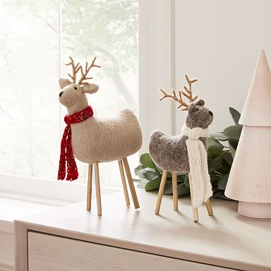 Decorative Felt Reindeer