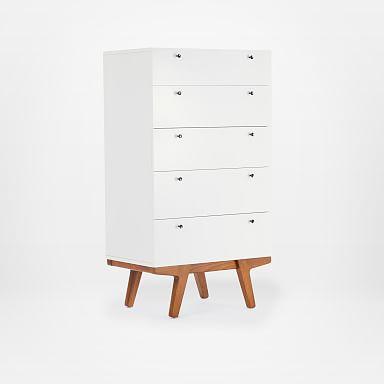 Modern 5-Drawer Dresser