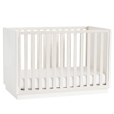 Modernist Convertible Crib - Winter Wood
