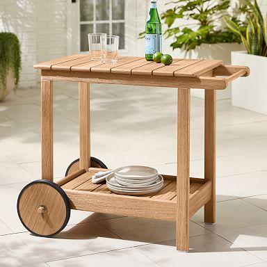 Playa Outdoor Bar Cart