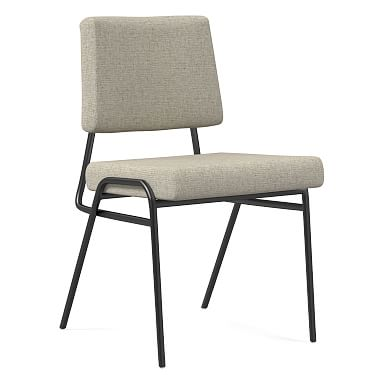 Wire Frame Upholstered Dining Chair - Patterned