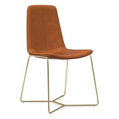 Slope Vegan Leather Dining Chair