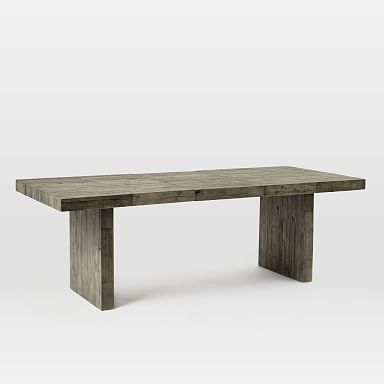 Emmerson® Reclaimed Wood Expandable Dining Table - Stone Gray
