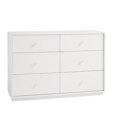 Milo 6-Drawer Dresser - Simply White