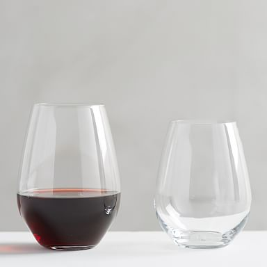 Design Crew Basics Stemless Wine Glasses (Set of 6)
