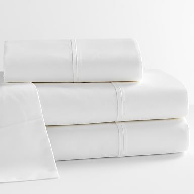 Design Crew Basics Organic Cotton Sheet Set - 200-Thread-Count