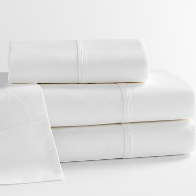 Design Crew Basics Organic Cotton Sheet Set - 400-Thread-Count