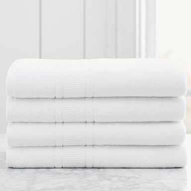Design Crew Basics Terry Bath Towels (Set of 4)
