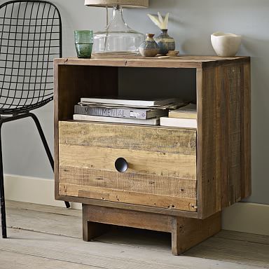Emmerson® Reclaimed Wood Nightstand - Natural