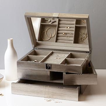 Grand Lacquer Jewelry Box