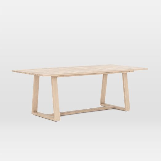 Teak Wood Outdoor Dining Table