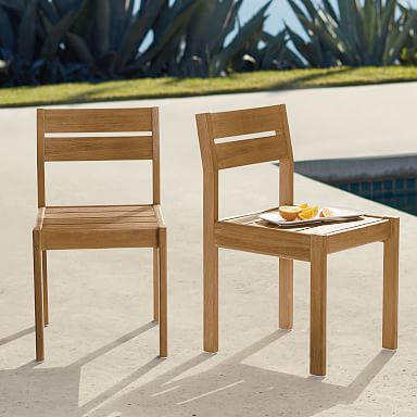Playa Outdoor Dining Chairs (Set of 2)