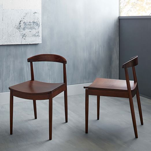 Lena Mid Century Dining Chair Set Of 2