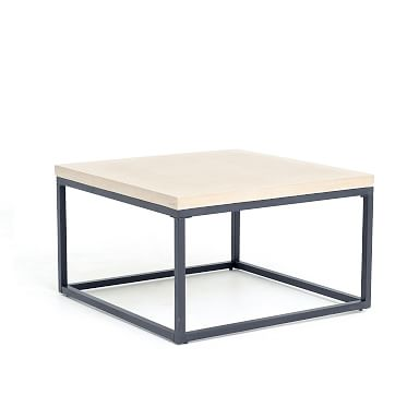 Slab Box Frame Outdoor Coffee Table - Square