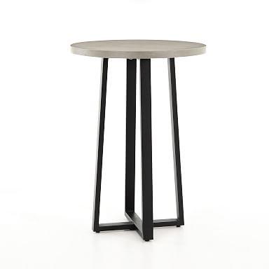 Slab Round Bar Table
