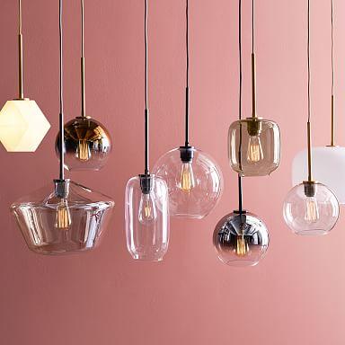 Build Your Own - Sculptural Glass Pendant