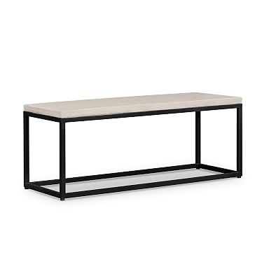 Slab Outdoor Day Bench