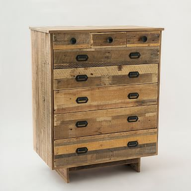 Emmerson® Reclaimed Wood 8-Drawer Dresser - Natural