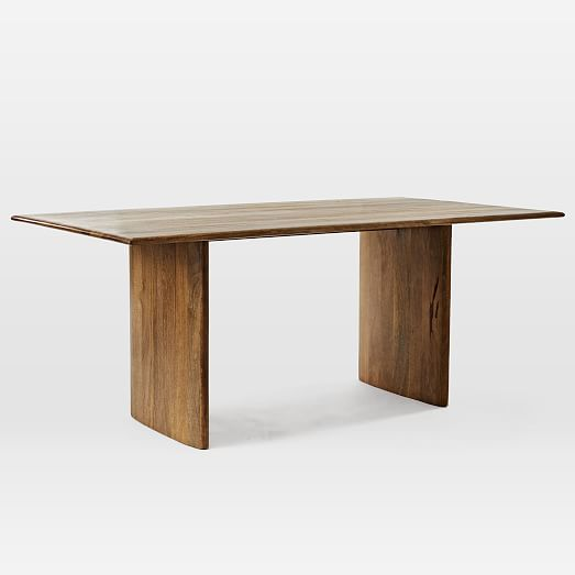 Anton Solid Wood Dining Table Burnt Wax