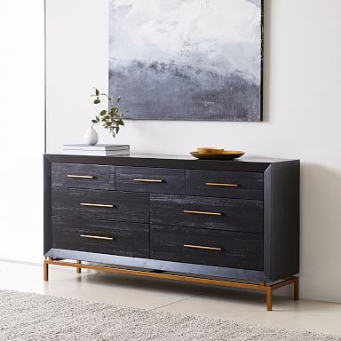 Alexa Burnished 7-Drawer Dresser